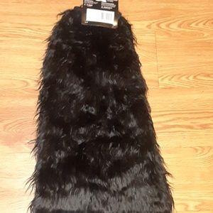 Faux Fur Leg Warmers Halloween Furry